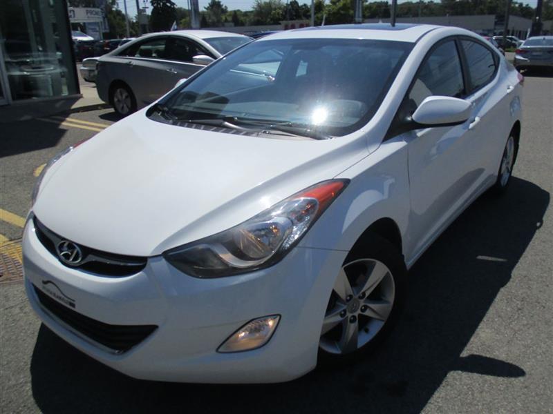 Hyundai Elantra 2013 GLS, MAGS, A/C, TOIT, SIÈGES CHAUF, BLUETOOTH #17474A