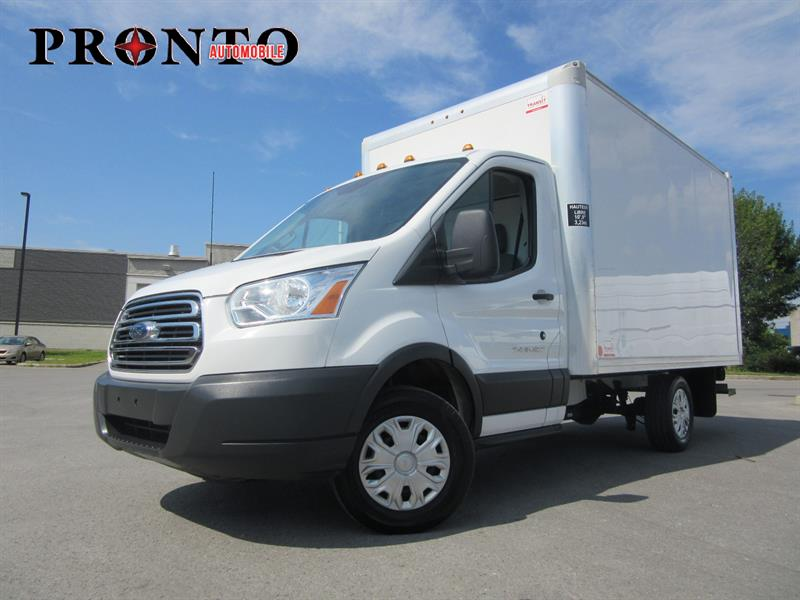 Ford Transit Cutaway 2015 T-250 Cube 12 pieds ** Rampe arriere ** #3424