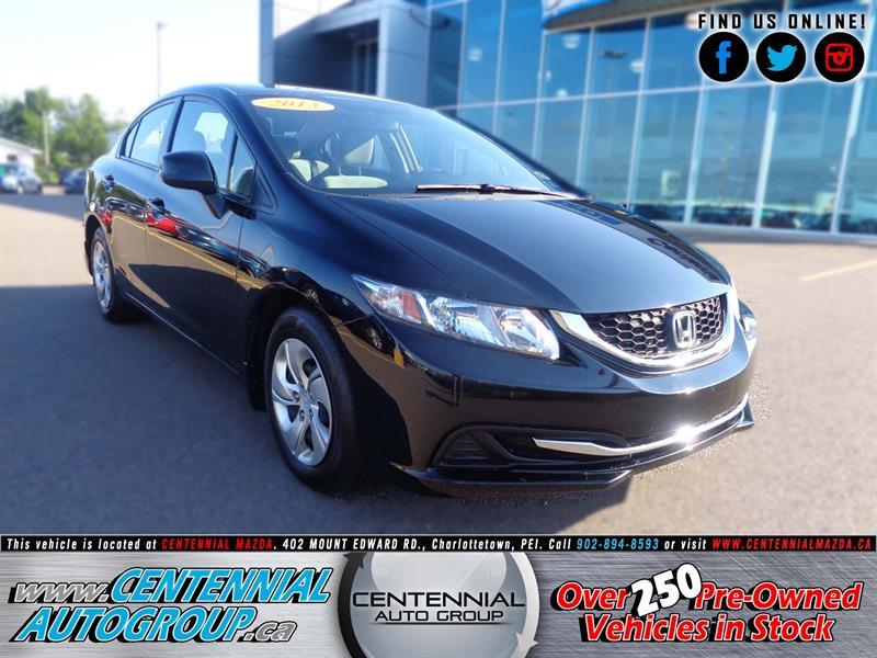 2013 Honda Civic Sdn 4dr Man LX  #5591A