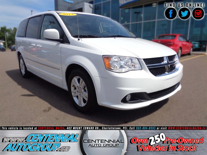 2016 Dodge Grand Caravan 4dr Wgn Crew Plus #U976