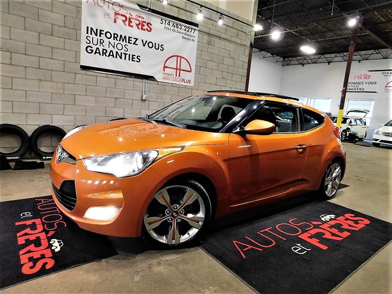 Hyundai Veloster 2012 3dr Cpe #1798