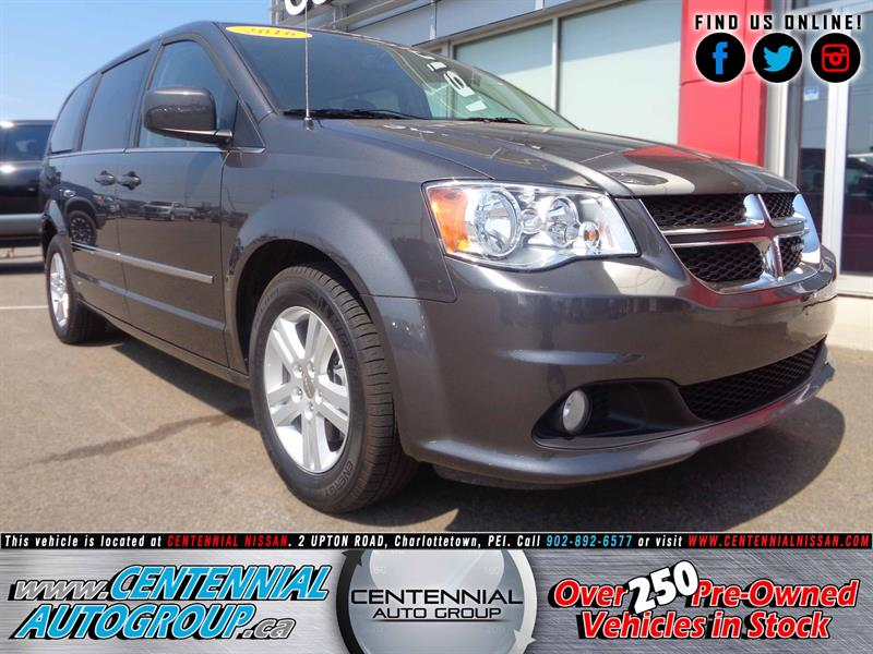 2016 Dodge Grand Caravan 4dr Wgn Crew Plus #P17-129