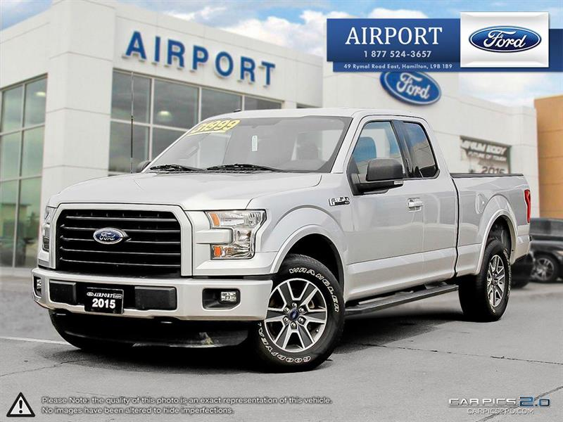 2015 Ford F-150 4WD SuperCab #A70731
