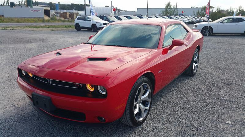 Dodge Challenger 2016 2dr Cpe R-T #u0180