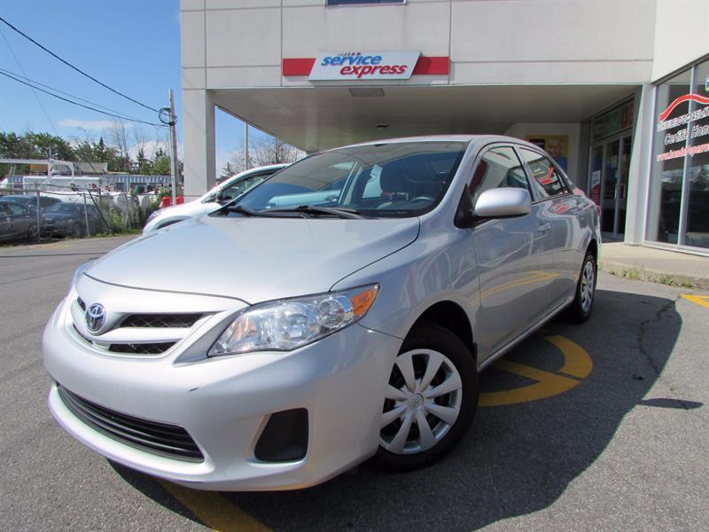Toyota Corolla 2013 4dr Sdn GROUPE ELECTRIQUE AIR CLIMATISER  #44170