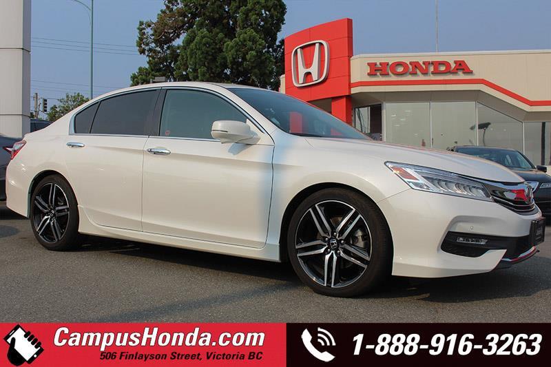 2016 Honda Accord Sedan Touring Navigation Bluetooth #17-0552A