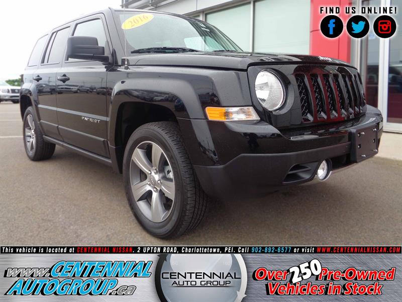 2016 Jeep Patriot 4WD 4dr High Altitude #P17-154