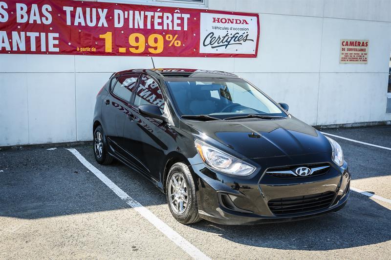 Hyundai Accent 2012 5dr HB #H0700A