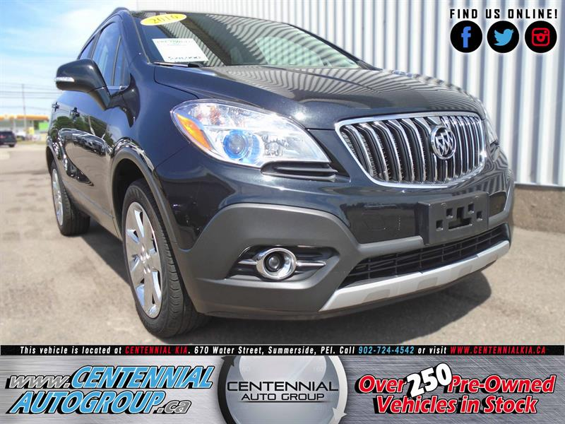2016 Buick Encore AWD 4dr Leather #U700A