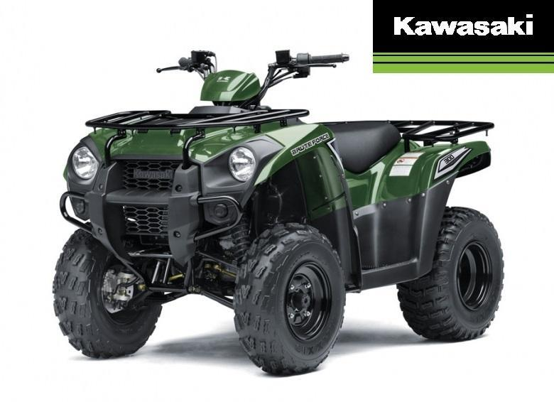 Kawasaki Brute Force 300 2x4 2017
