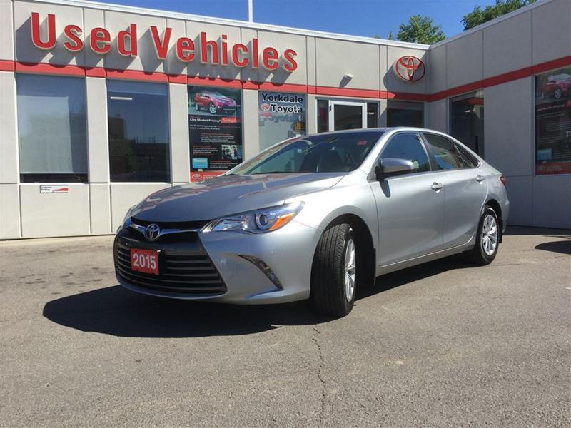 2015 Toyota Camry LE, 1 OWNER, BLUETOOTH, CAMERA, POWER GROUP #C6537