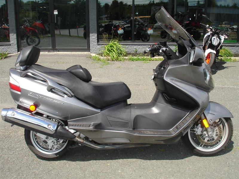Suzuki AN650AK9 Burgman 2009