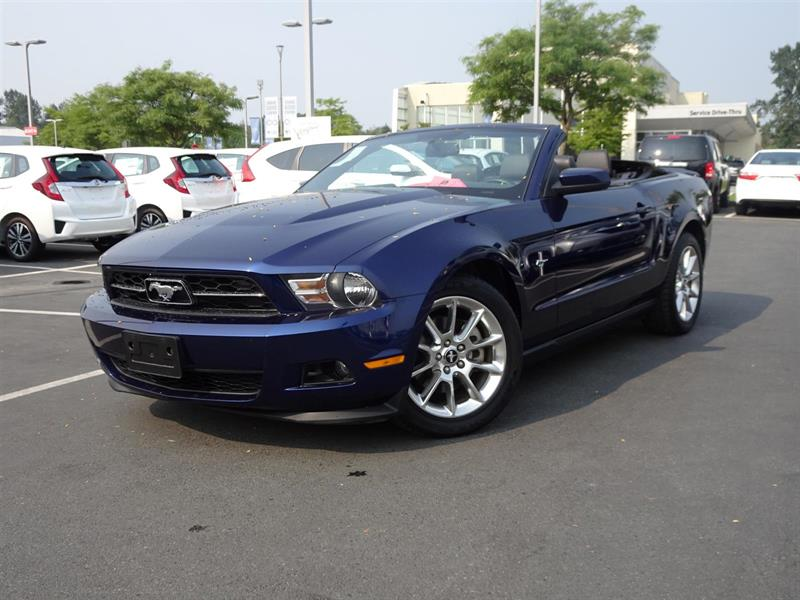 2011 Ford Mustang V6 Convertible! 6 Months Powertrain Warranty! #W1309A
