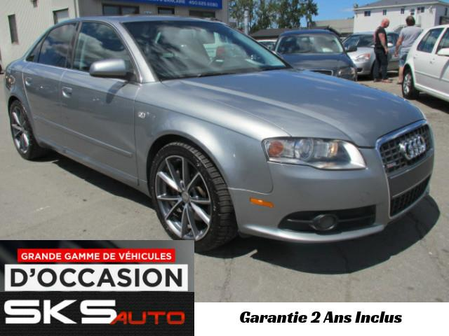 Audi A4 2008 S-LINE (GARANTIE 2 ANS INCLUS)  2.0T quattro #SKS-3839-02