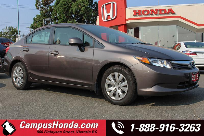 2012 Honda Civic Sdn LX Auto Bluetooth #17-0570B