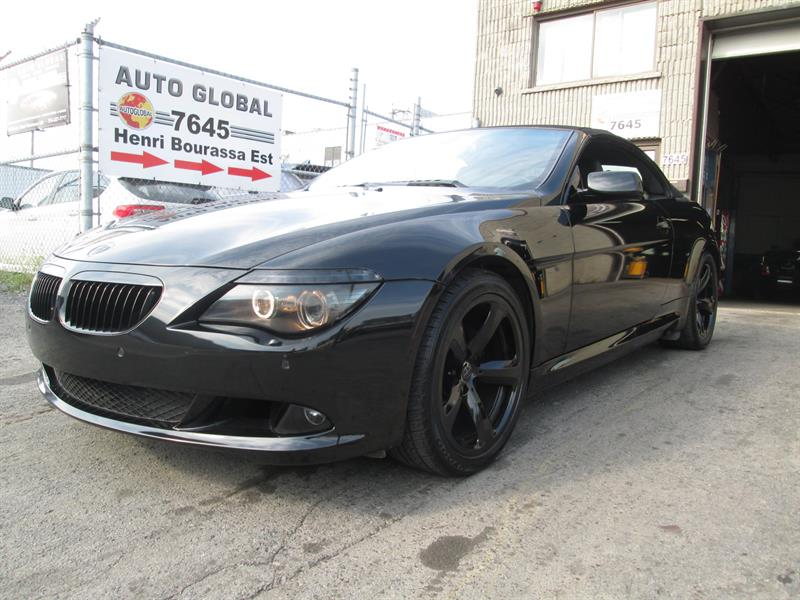 BMW 6 Series 2008 650I CONVERTIBLE, BLACK OUT, LOOK D'ENFER!! #17-853