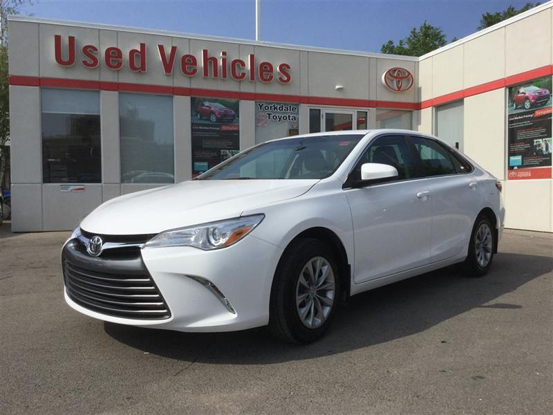 2016 Toyota Camry LE, BLUETOOTH, CAMERA, POWER GROUP, KEYLESS ENTRY #P6607