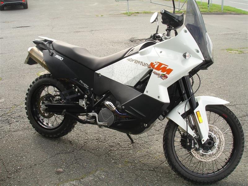 KTM 990 Adventure White 2010