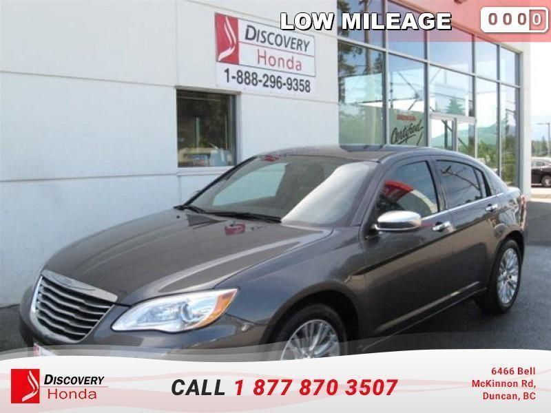2014 Chrysler 200 Limited   Low Mileage - A #16-206A
