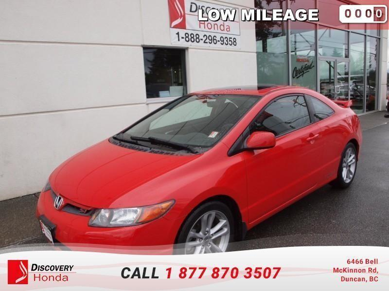 2007 Honda Civic Cpe Coupe Si 6sp   - one owne #17-136H