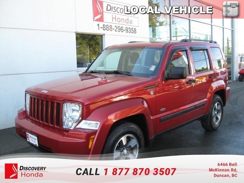 2008 Jeep Liberty Sport 4D Utility 4WD  - l #B2575A