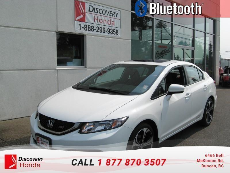 2015 Honda Civic Sedan Sedan SI 6MT  - Bluetooth #B2586