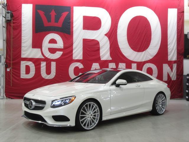 Mercedes-Benz Classe-S 2016 S550 COUPE 4MATIC DESIGNO #AC138