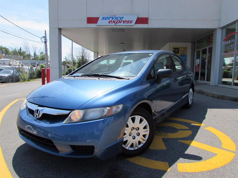 Honda Civic Sdn 2010 4dr Man BAS MILLAGE  #44168
