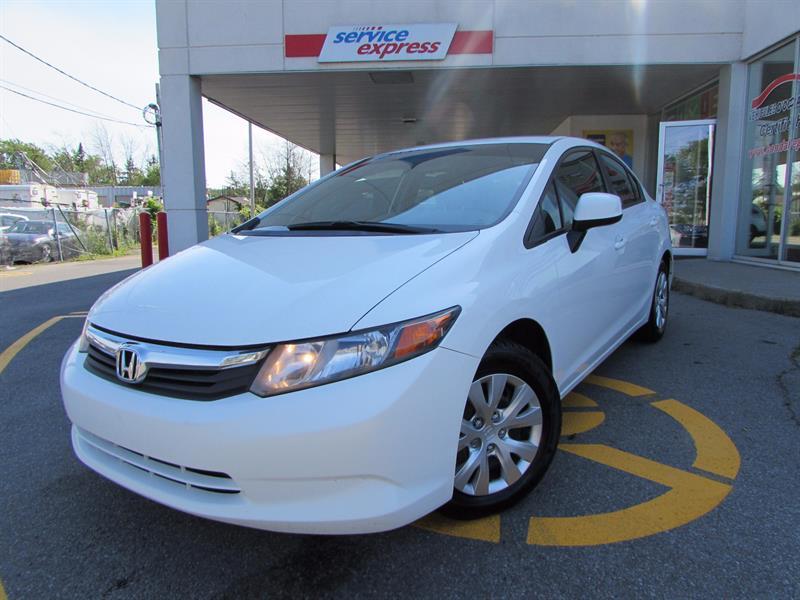 Honda Civic Sdn 2012 4dr Man LX BLUETOOTH  #44177