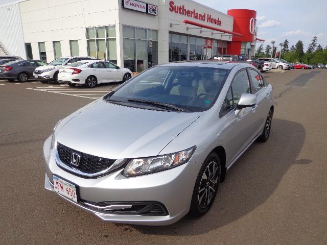 2013 Honda Civic Sdn 4dr Auto EX #DH015300A