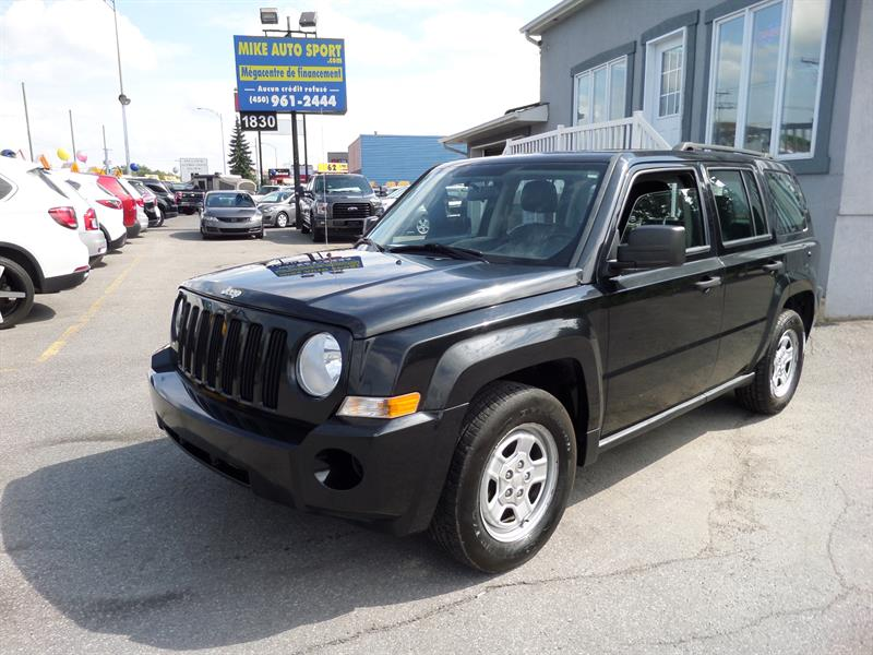 Jeep Patriot 2010 FWD 4dr