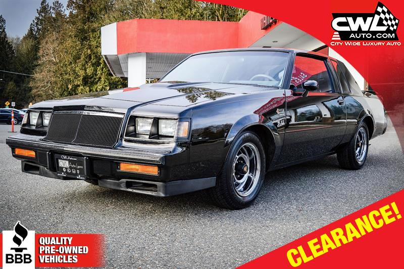 1986 Buick Regal Grand National  #7535