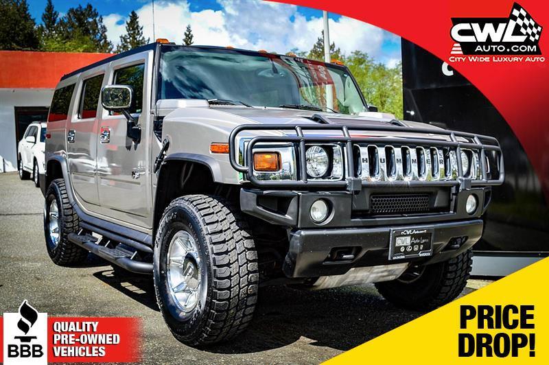 2004 Hummer H2 AWD - 6 Pass / 99,000 KMs ! #CWL7798M