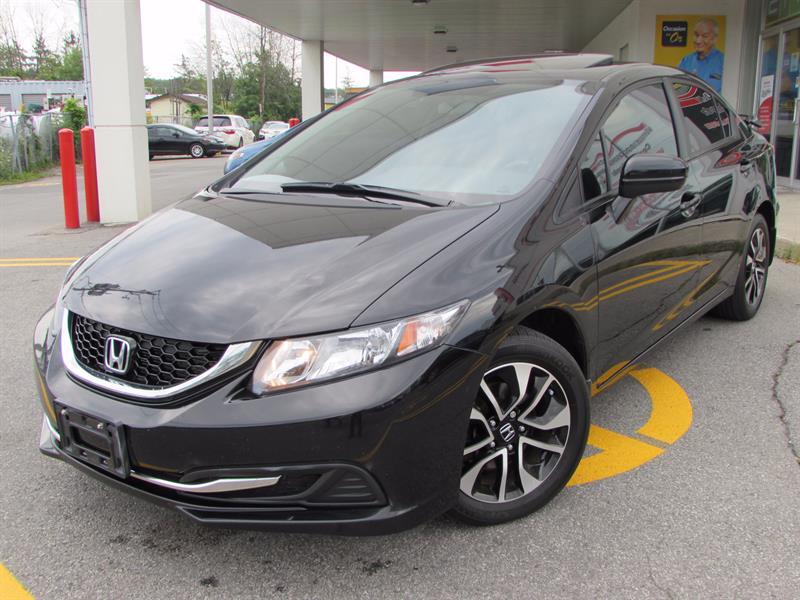 Honda Civic Sedan 2015 4dr Auto EX TOIT OUVRANT CEMERA D ANGLE MORT #44167