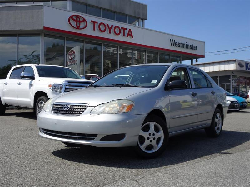 2007 Toyota Corolla CE #RV17533C