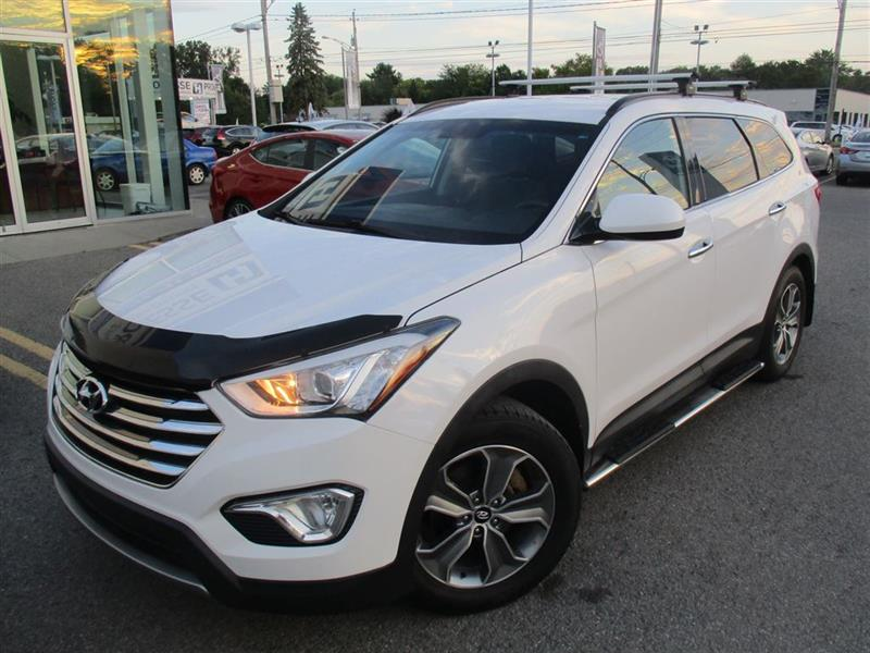 Hyundai Santa Fe Xl 2015 MARCHE-PIEDS,BARRE DE TOIT,MAGS,BLUETOOTH+ #E-0194