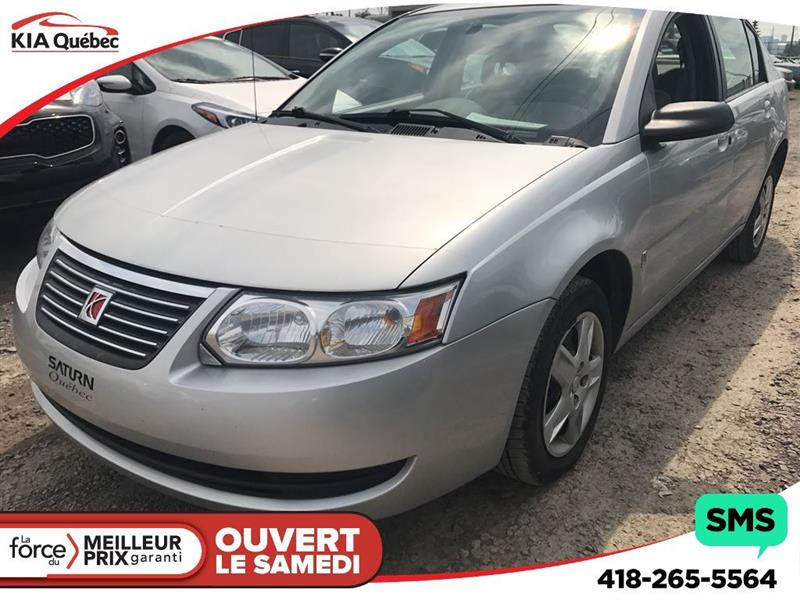 Saturn Ion 2007 Ion *TOIT OUVRANT* #K171526A