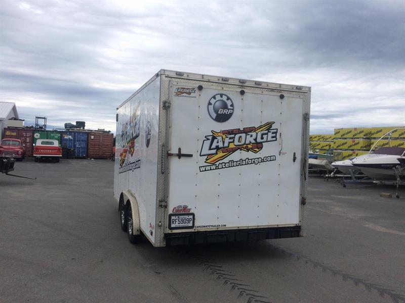 Cargo Mate Remorque 8x16TA 2014