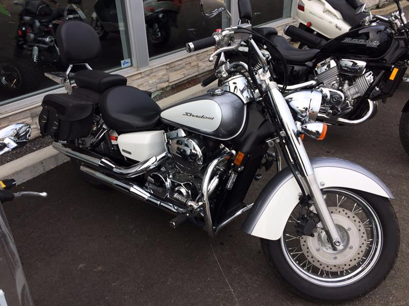 honda shadow shadow aero 750 2014 occasion vendre chateau richer chez as moto. Black Bedroom Furniture Sets. Home Design Ideas