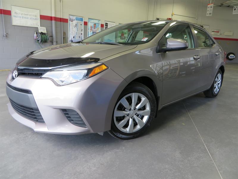 Toyota Corolla 2014 LE Gr:A *CAMÉRA + GARANTIE PROLONGÉE* #37588A