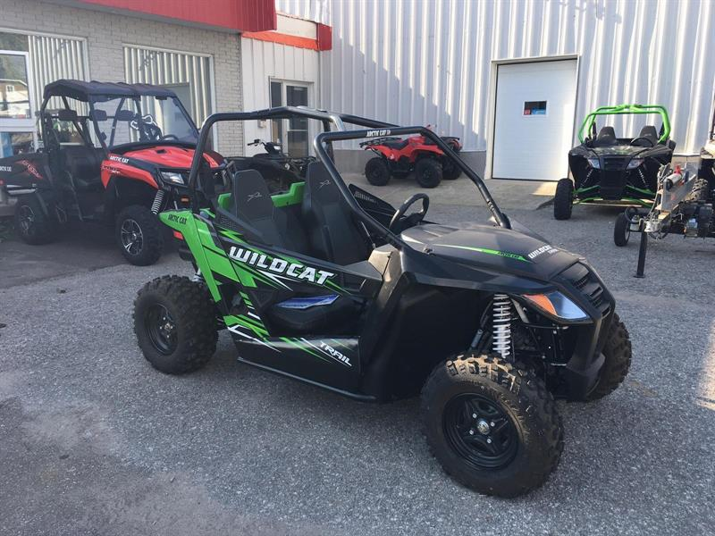 2017 Arctic Cat Wildcat Trail