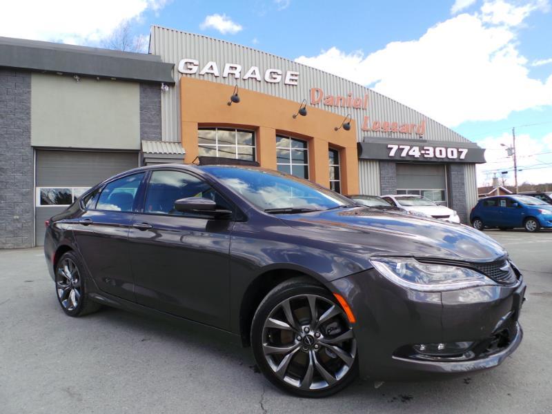 Chrysler 200 2015 v hicule usag vendre garage for Vendre voiture garage