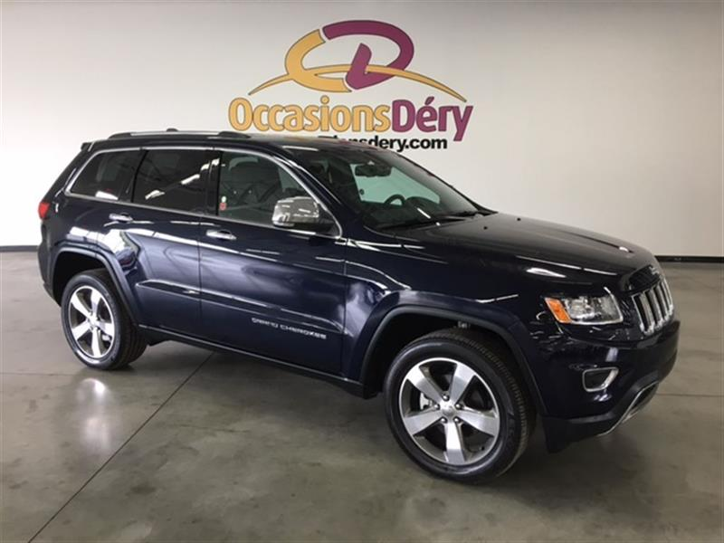 Jeep Grand Cherokee 2016 LIMITED CUIR TOIT MAGS 20  ET BIEN PLUS ! #A4929