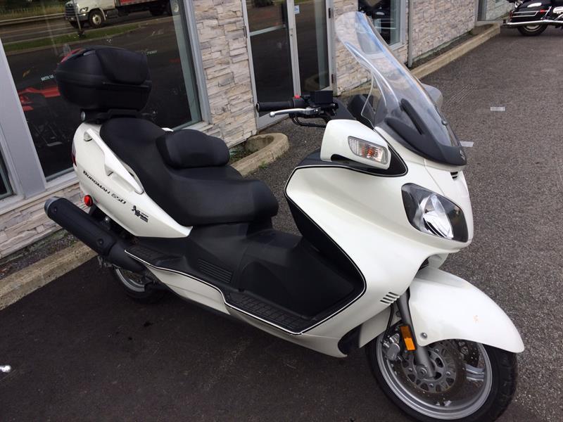 Suzuki AN650 2007