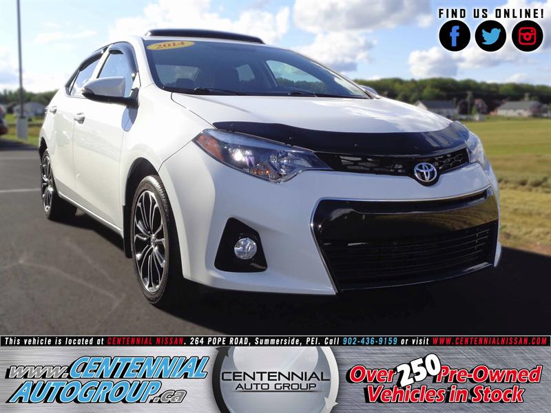 2014 Toyota Corolla S | 1.8L | i4-Cyl | Leather  #S17-187A