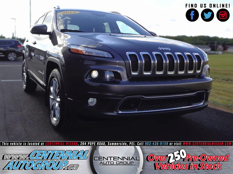 2016 Jeep Cherokee Limited 4WD 3.2L V6 #S17-021A