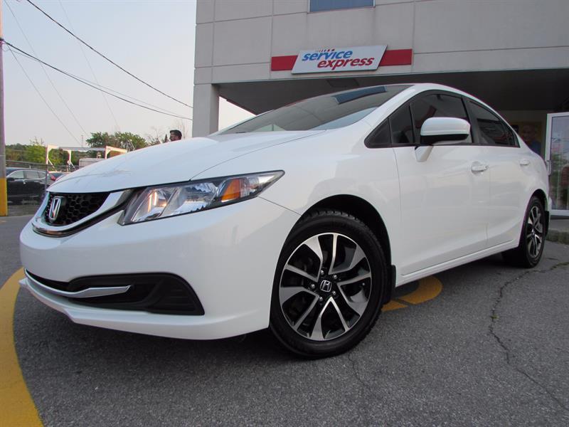 Honda Civic Sedan 2014 4dr Man EX TOIT OUVRANT  #44189