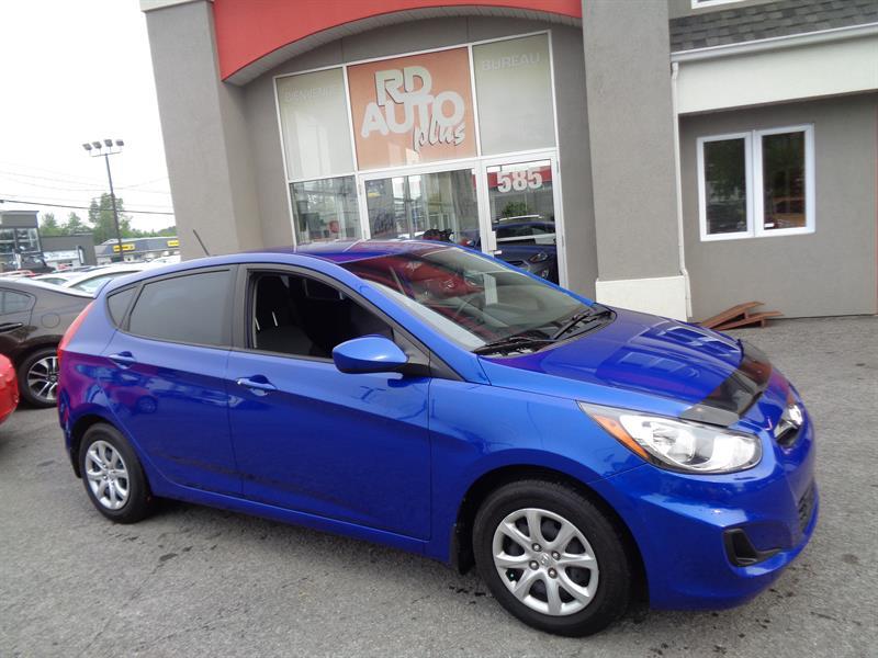Hyundai Accent 2012 5dr HB GL MANUELLE  #9189