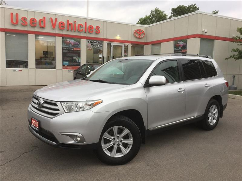 2013 Toyota Highlander 7PASS, LEATHER, BACKUP CAM, HEATED SEATS #C6661