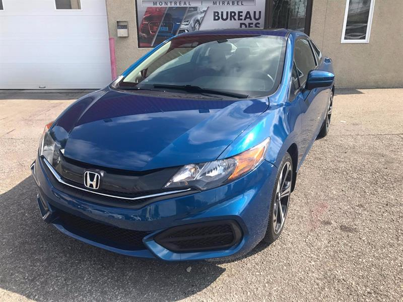 Honda Civic Coupé 2015  EX Toit, Air, cam recul #5952